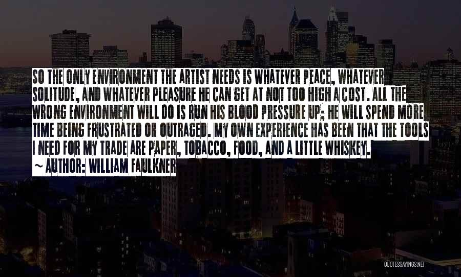 Frustrated Quotes By William Faulkner