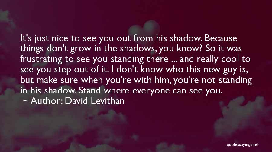 Frustrating Relationships Quotes By David Levithan