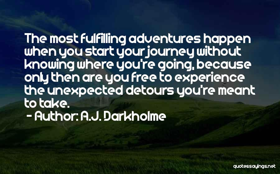 Fulfilling Your Goals Quotes By A.J. Darkholme
