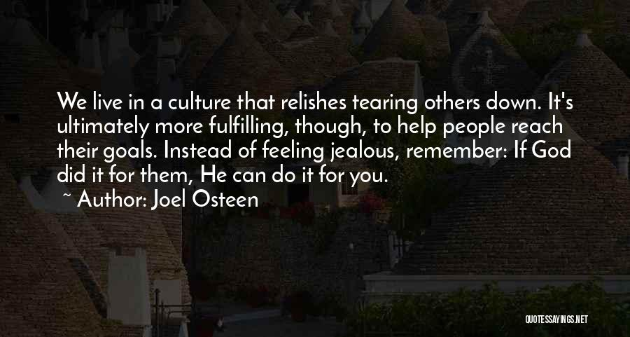 Fulfilling Your Goals Quotes By Joel Osteen