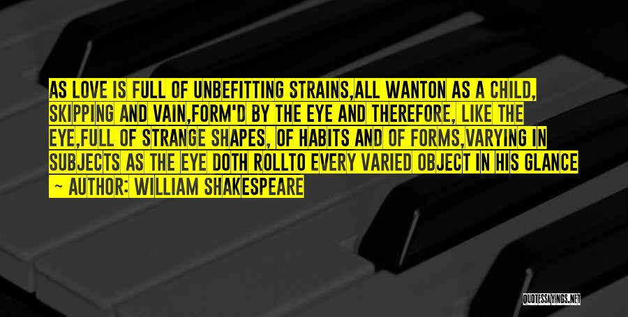 Full Form Of Love Quotes By William Shakespeare