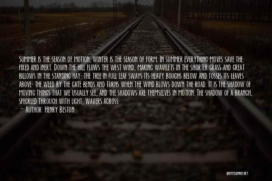 Full Of Themselves Quotes By Henry Beston