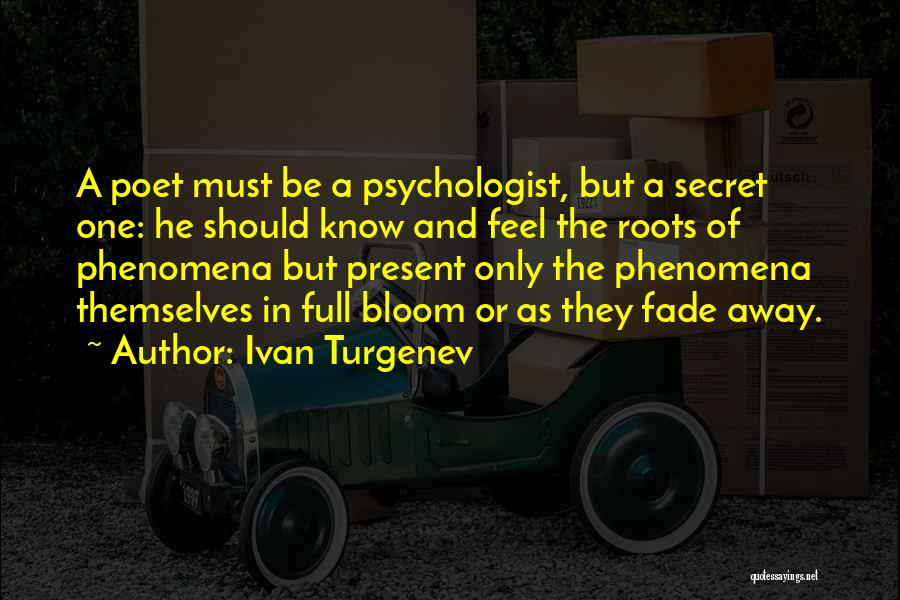 Full Of Themselves Quotes By Ivan Turgenev