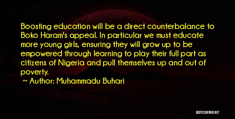 Full Of Themselves Quotes By Muhammadu Buhari