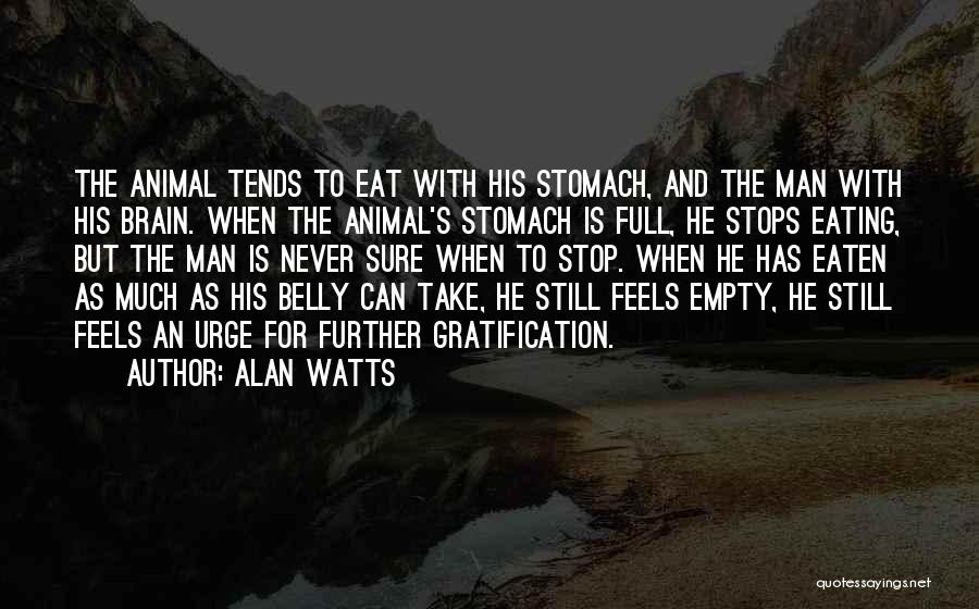 Full Stops Quotes By Alan Watts