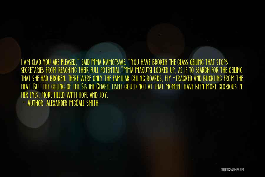 Full Stops Quotes By Alexander McCall Smith