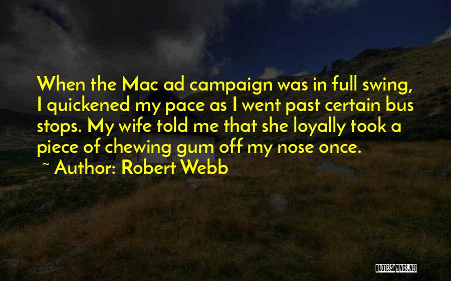 Full Stops Quotes By Robert Webb