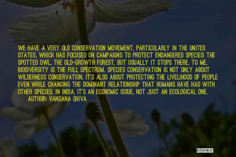 Full Stops Quotes By Vandana Shiva