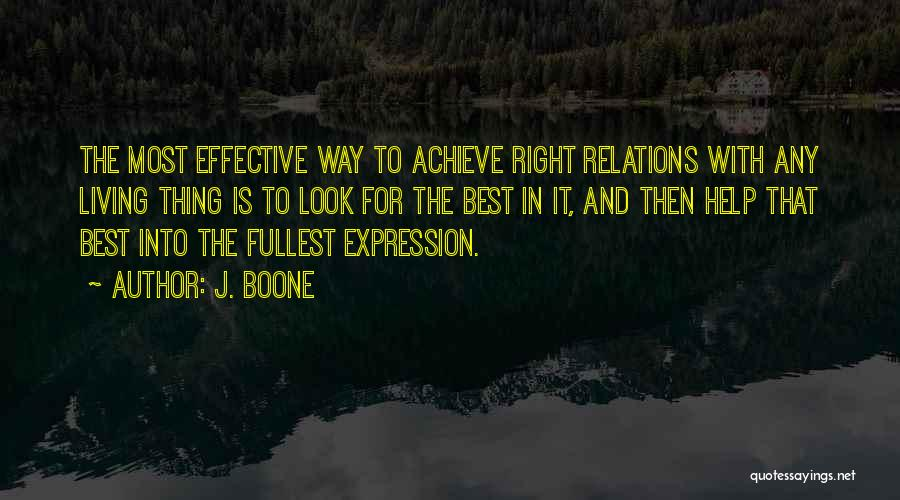 Fullest Quotes By J. Boone