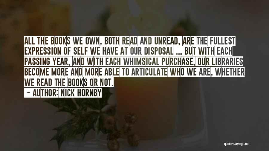 Fullest Quotes By Nick Hornby