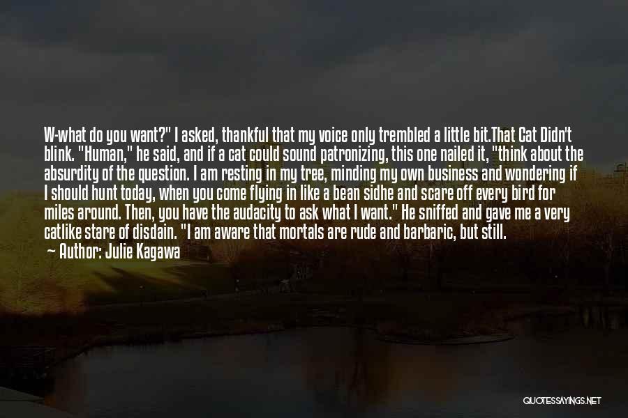 Funny Bean Quotes By Julie Kagawa