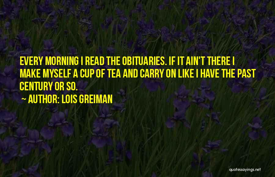 Funny Carry On Quotes By Lois Greiman