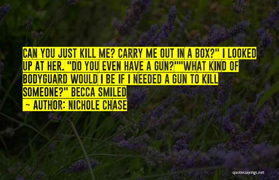 Funny Carry On Quotes By Nichole Chase