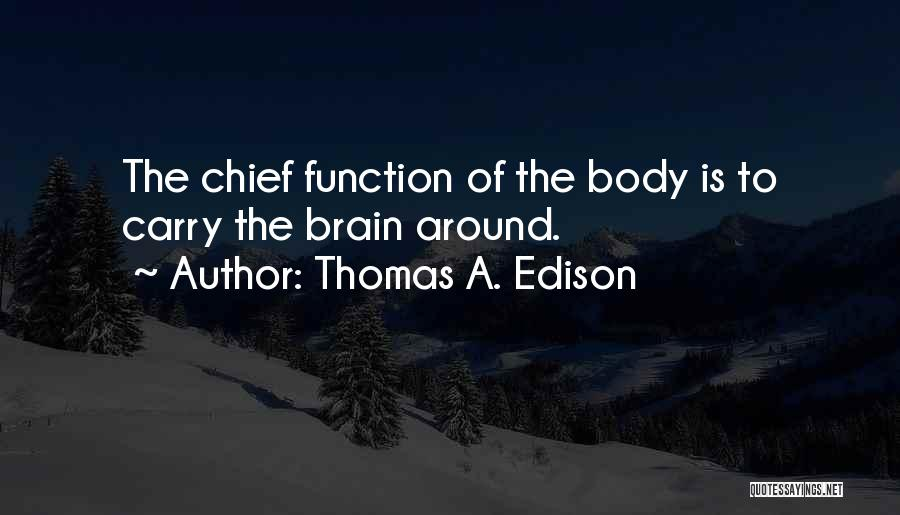 Funny Carry On Quotes By Thomas A. Edison