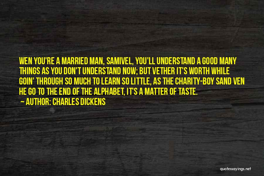 Funny Charity Quotes By Charles Dickens