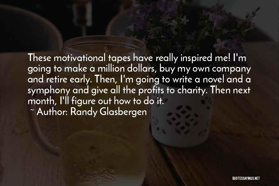Funny Charity Quotes By Randy Glasbergen