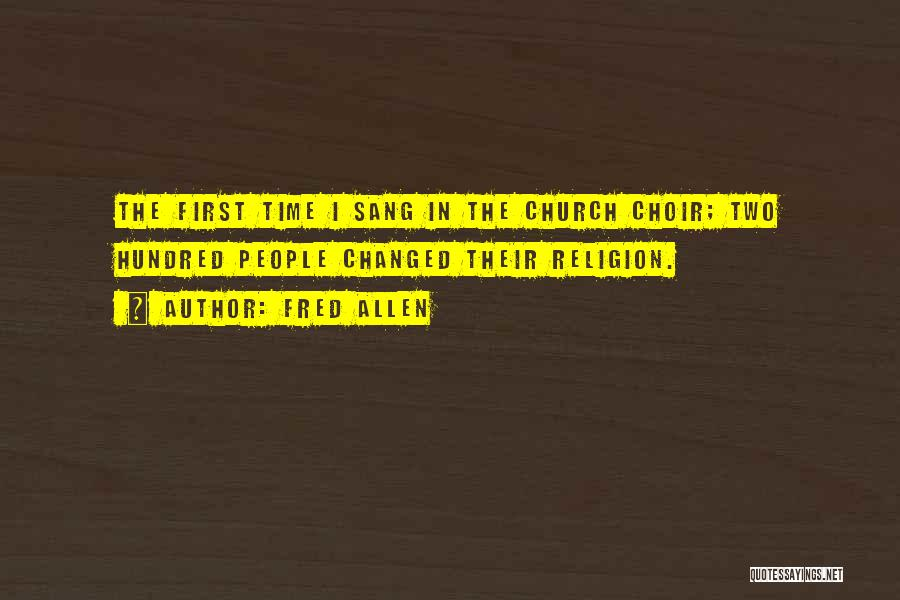 Top 2 Funny Church Choir Quotes & Sayings