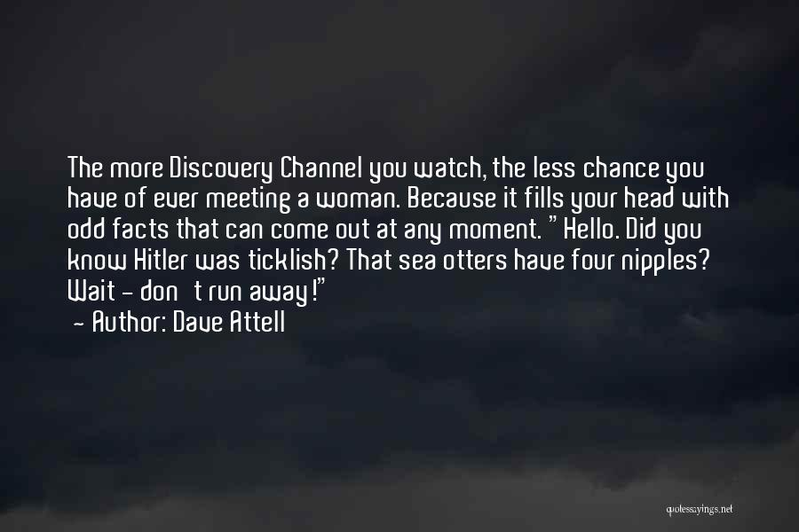 Funny Discovery Channel Quotes By Dave Attell