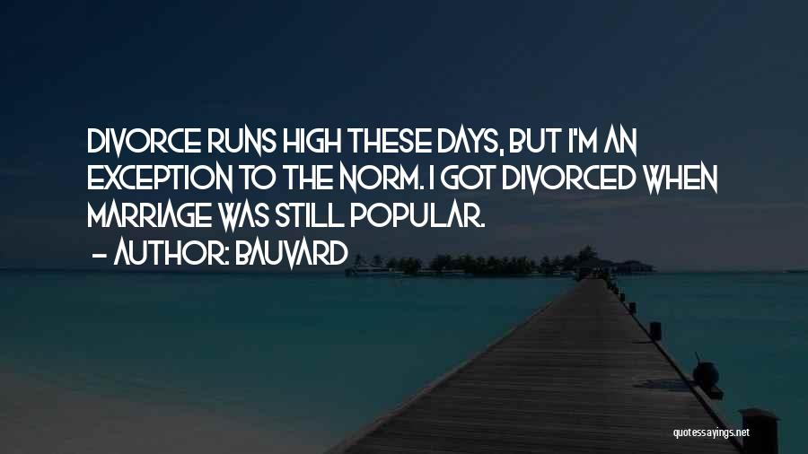 Funny Divorce Quotes By Bauvard