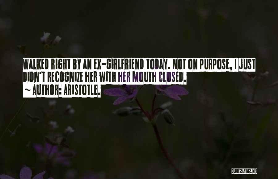 Funny Ex Girlfriend Quotes By Aristotle.
