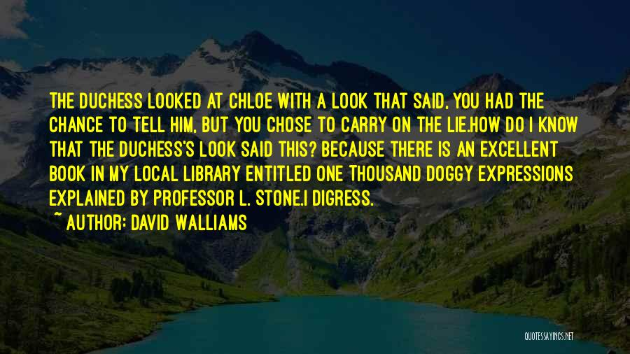 Funny Expressions And Quotes By David Walliams