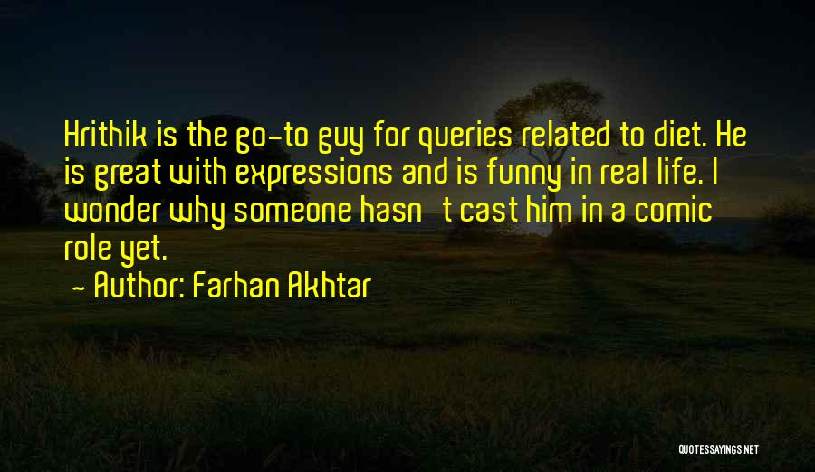 Funny Expressions And Quotes By Farhan Akhtar