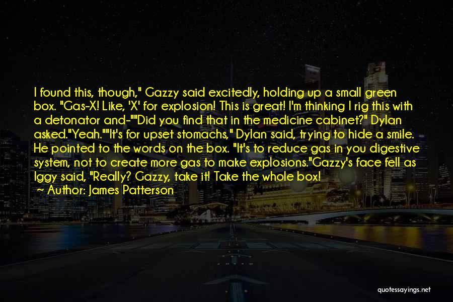 Funny Farts Quotes By James Patterson