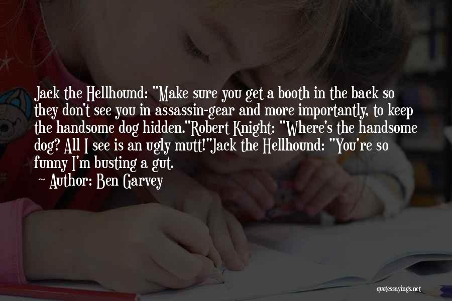 Funny Fiction Quotes By Ben Garvey