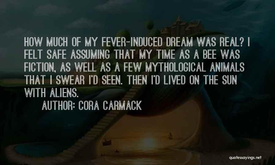 Funny Fiction Quotes By Cora Carmack