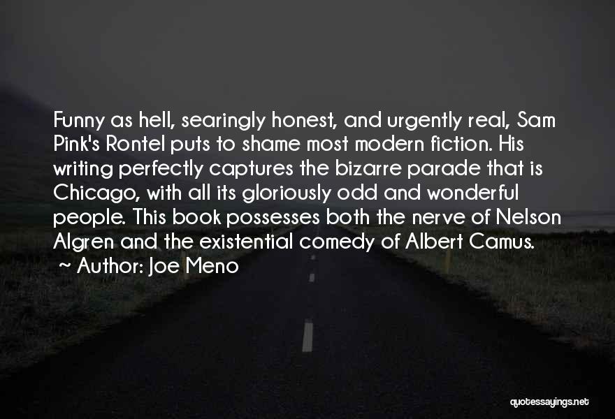 Funny Fiction Quotes By Joe Meno