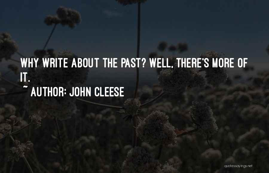 Funny Fiction Quotes By John Cleese