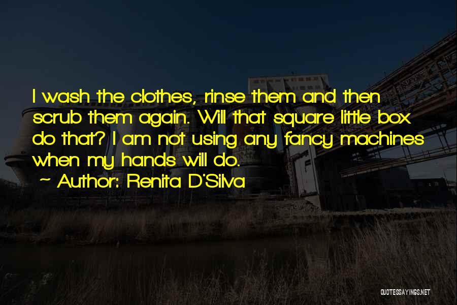 Funny Fiction Quotes By Renita D'Silva