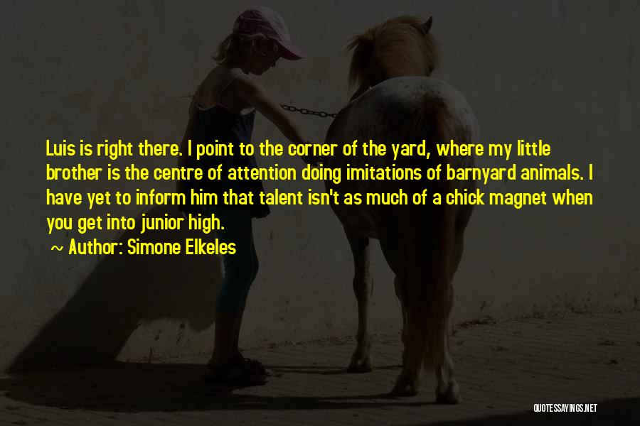 Funny Fiction Quotes By Simone Elkeles