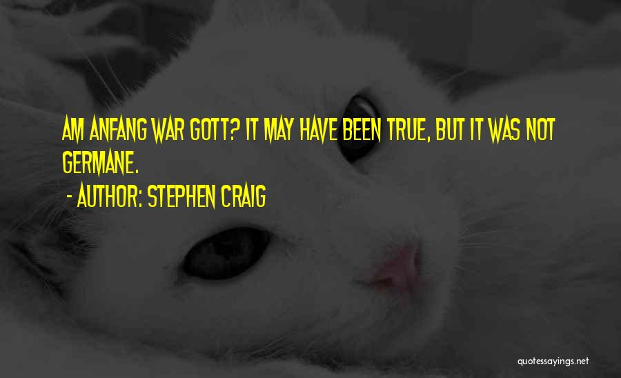 Funny Fiction Quotes By Stephen Craig