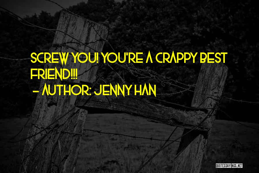 Funny Funny Quotes By Jenny Han
