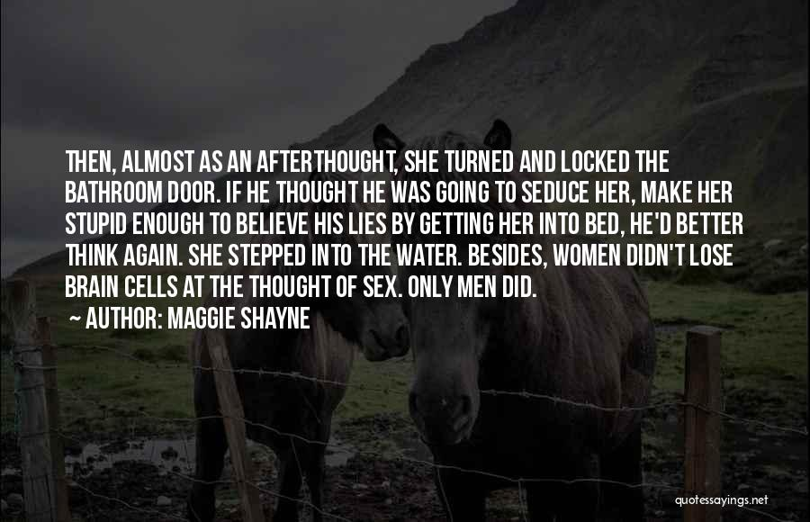 Funny Funny Quotes By Maggie Shayne