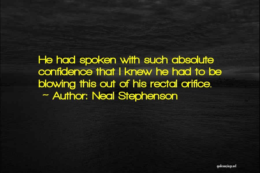 Funny Funny Quotes By Neal Stephenson