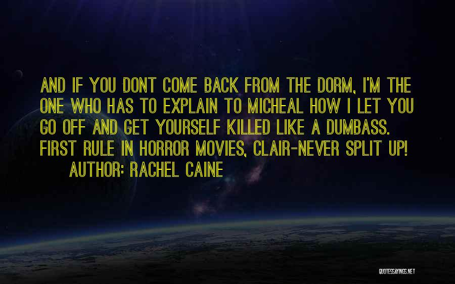 Funny Get Back Up Quotes By Rachel Caine