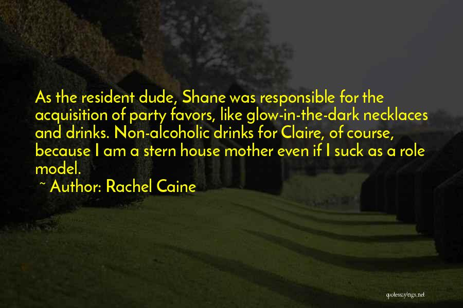 Funny Glow In The Dark Quotes By Rachel Caine