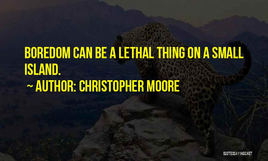 Funny Going Crazy Quotes By Christopher Moore