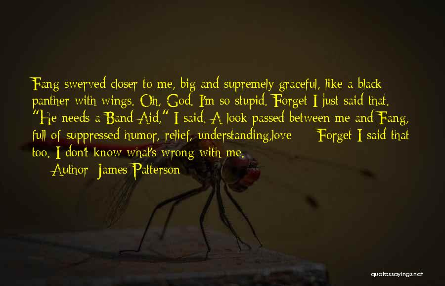 Funny Going Crazy Quotes By James Patterson