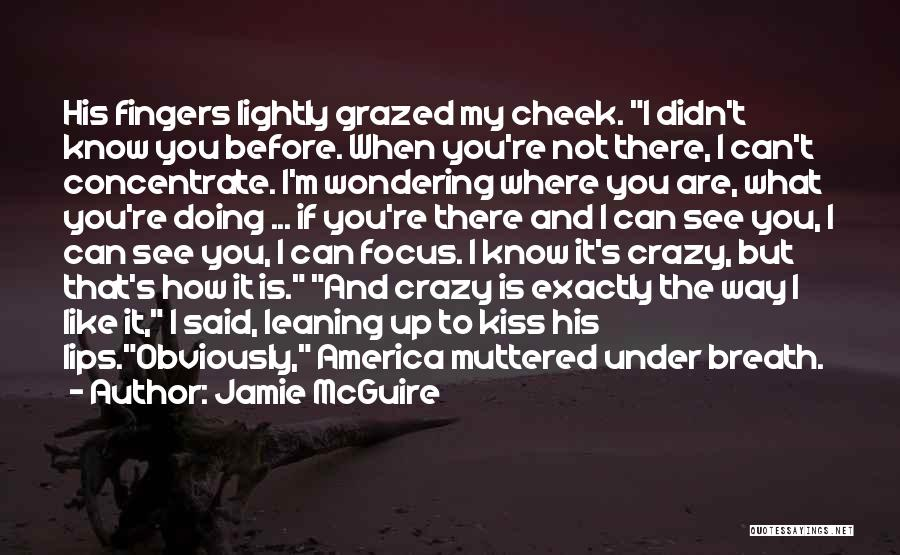 Funny Going Crazy Quotes By Jamie McGuire