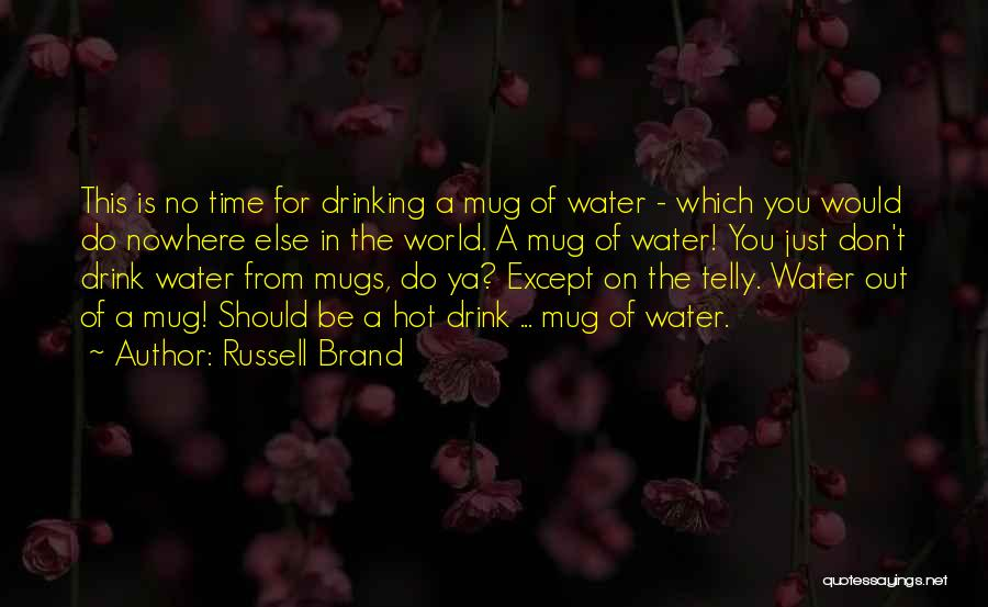 Funny Going Crazy Quotes By Russell Brand