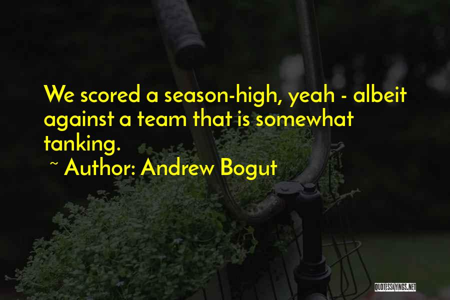 Funny High Quotes By Andrew Bogut