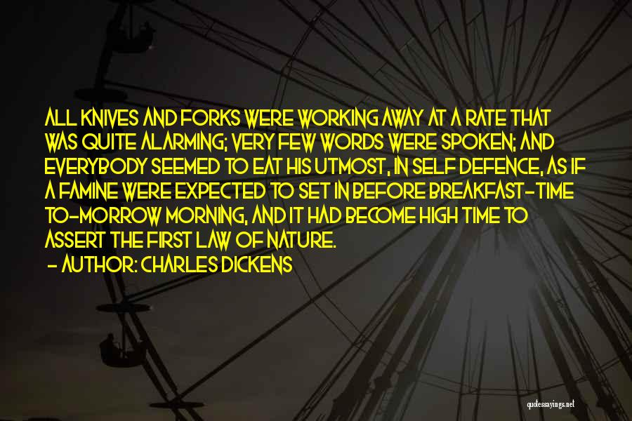 Funny High Quotes By Charles Dickens