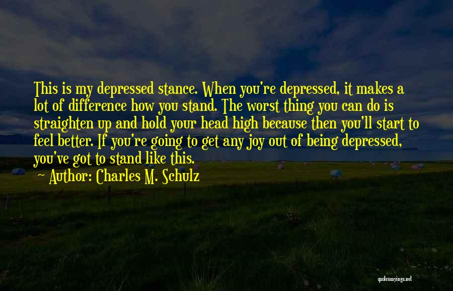 Funny High Quotes By Charles M. Schulz