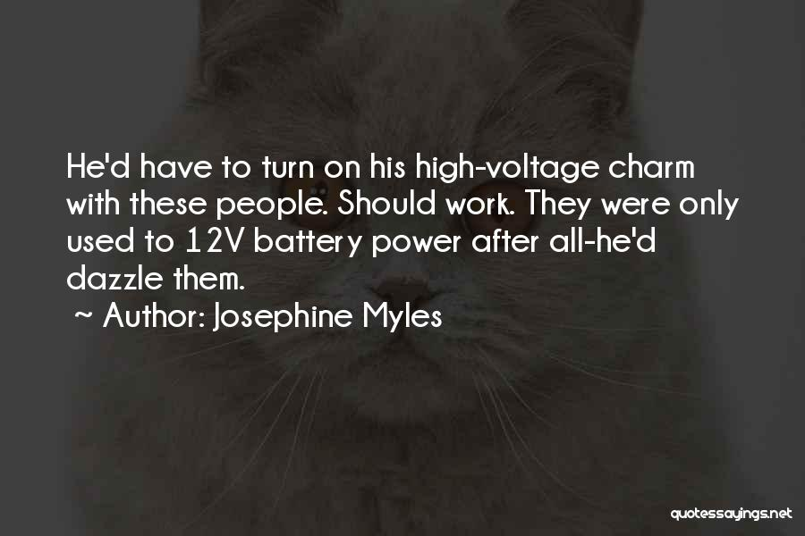 Funny High Quotes By Josephine Myles