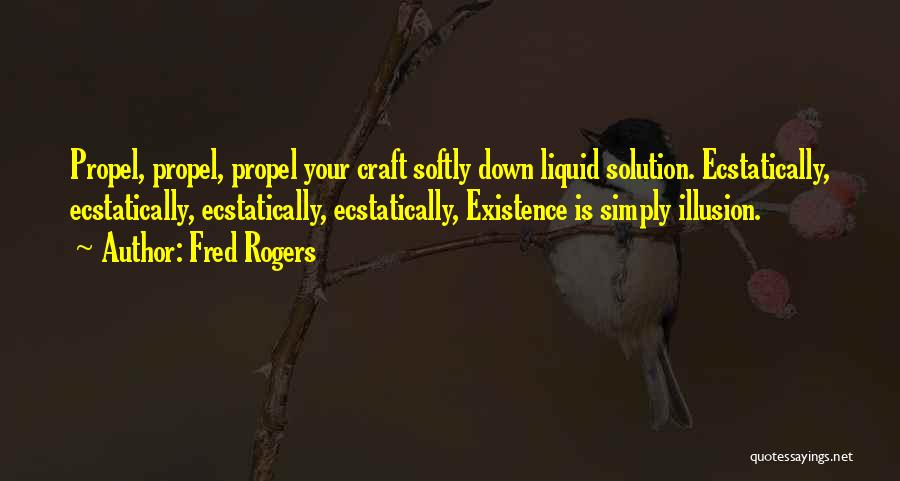 Funny Illusion Quotes By Fred Rogers