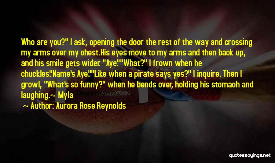 Funny I'm So Over You Quotes By Aurora Rose Reynolds