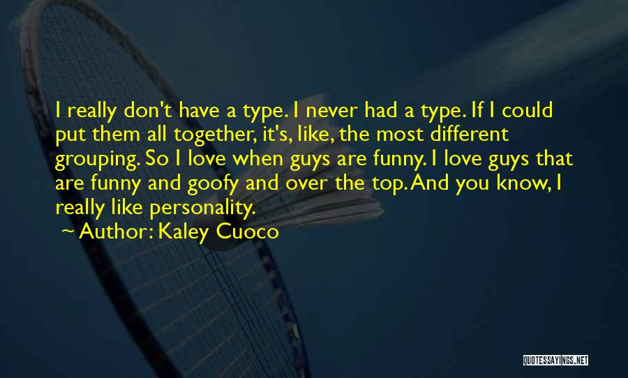 Funny I'm So Over You Quotes By Kaley Cuoco